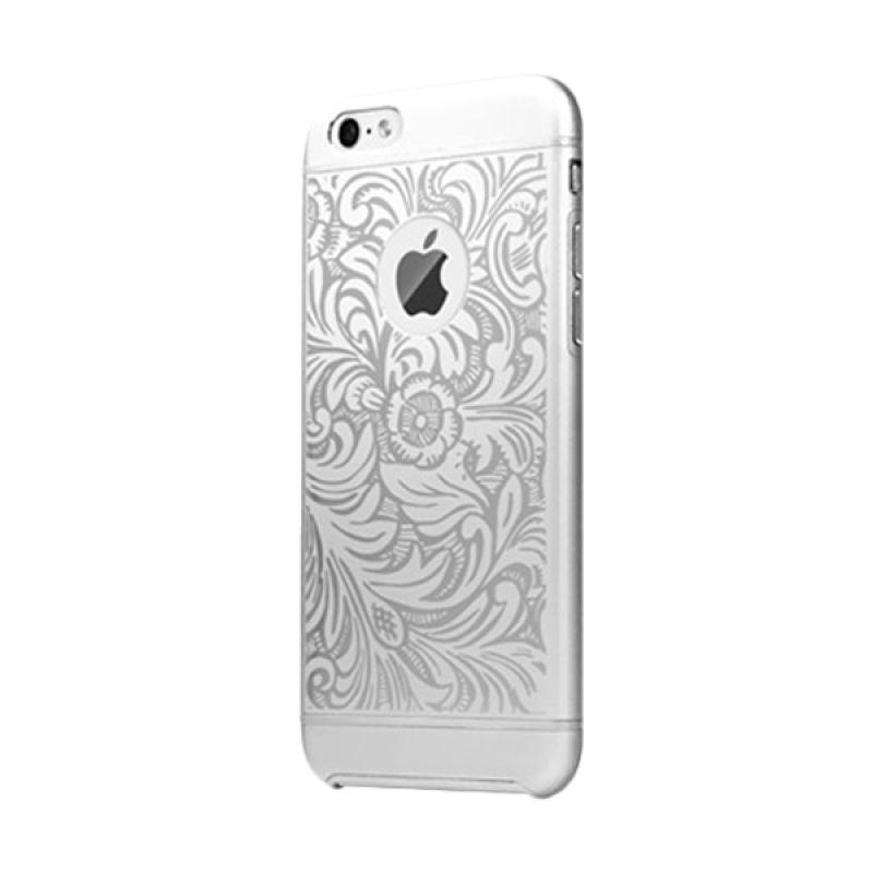 iBacks Premium Aluminium Cameo Series Venezia Silver Casing for iPhone 6