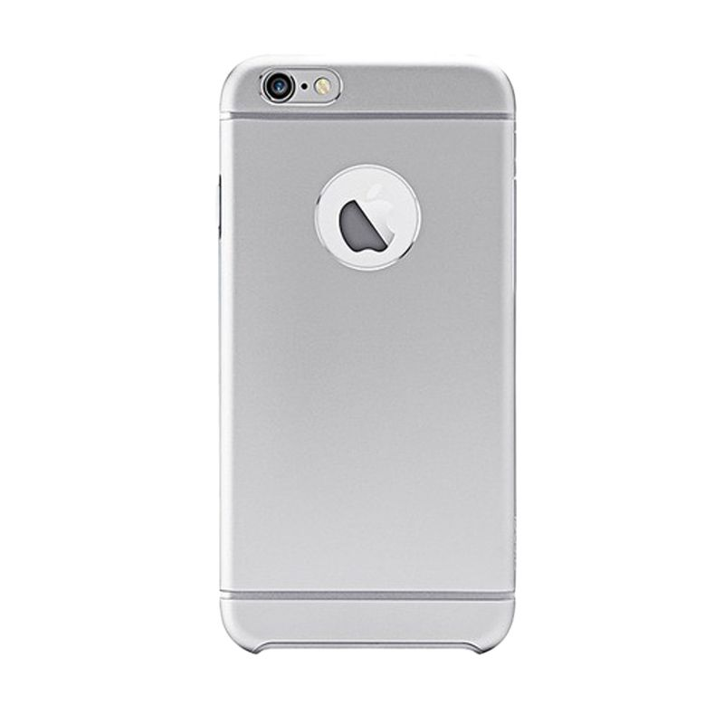 iBacks Premium Aluminium Essence Silver Casing for iPhone 6