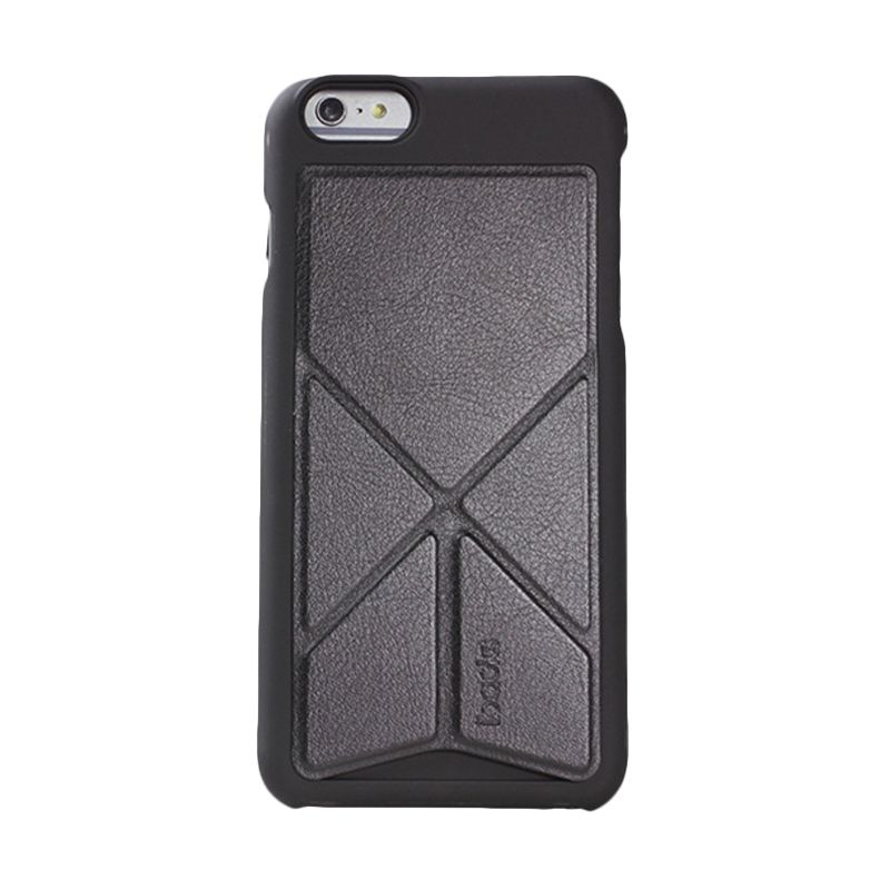 iBacks Premium PC Don Quixote Windmill Black Casing for iPhone 6 Plus [Ultra-Slim Edition]