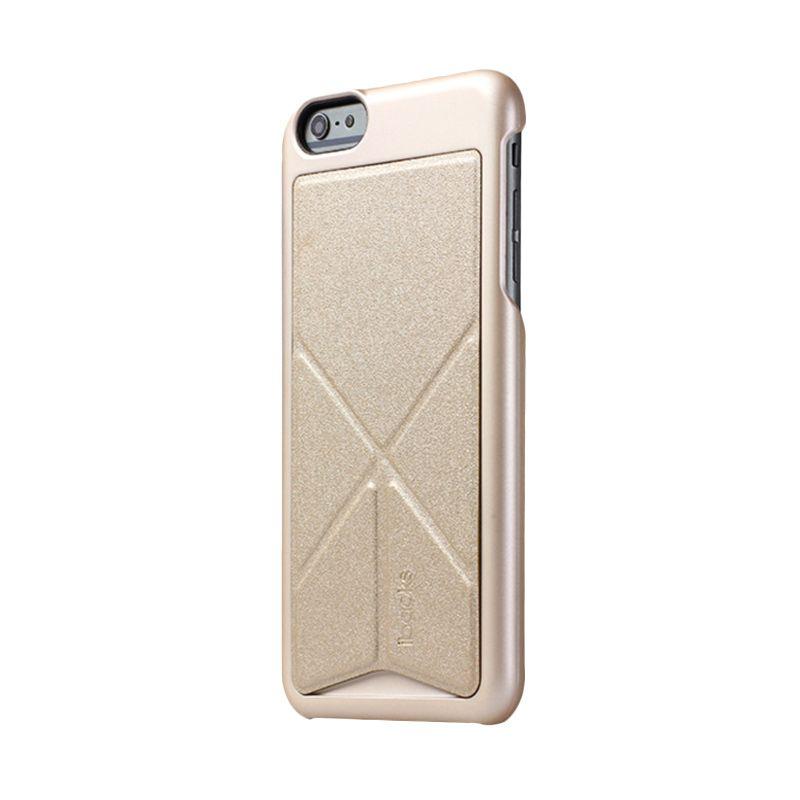 iBacks Premium PC Don Quixote Windmill Champagne Gold Casing for iPhone 6 [Ultra-Slim Edition]