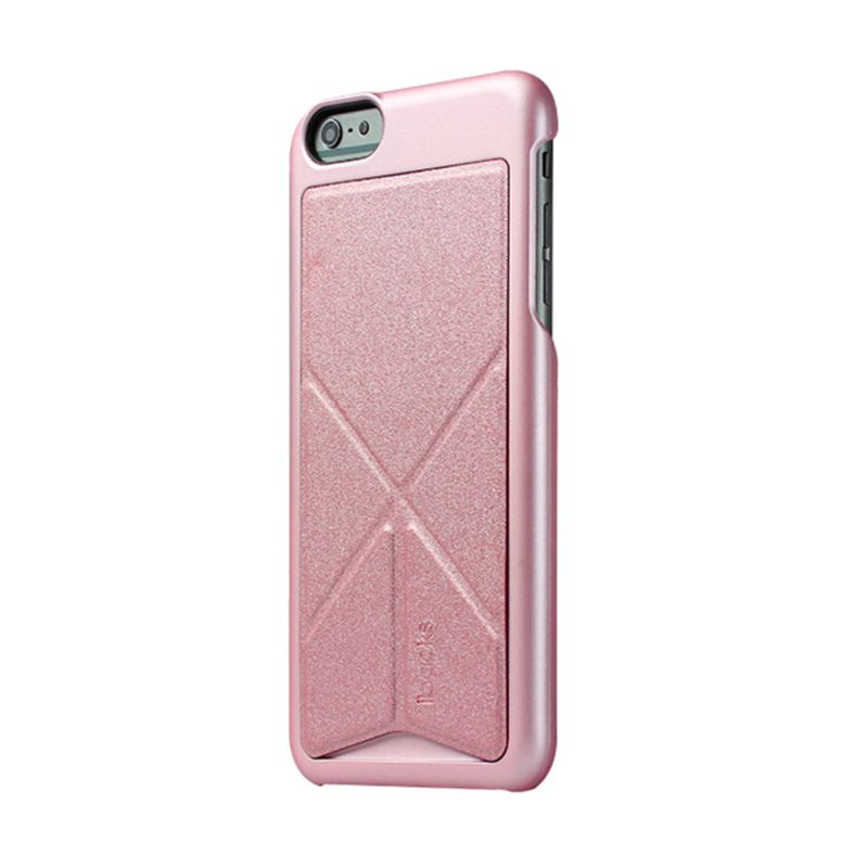 iBacks Premium PC Don Quixote Windmill Pink Casing for iPhone 6 Plus [Ultra-Slim Edition]