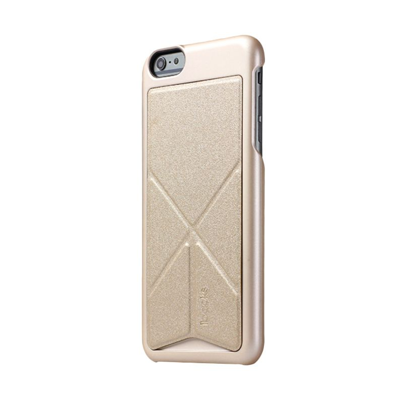 iBacks Premium PC Don Quixote Windmill Ultra-slim Edition Champagne Gold Casing for iPhone 6 Plus
