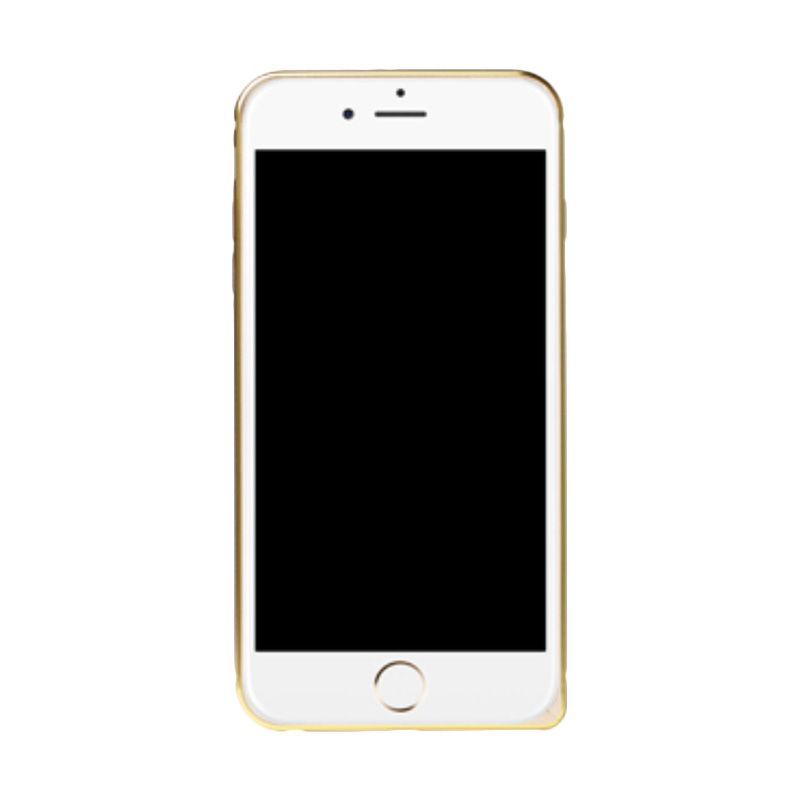 iBacks Venezia Aluminium Gold Casing for iPhone 6