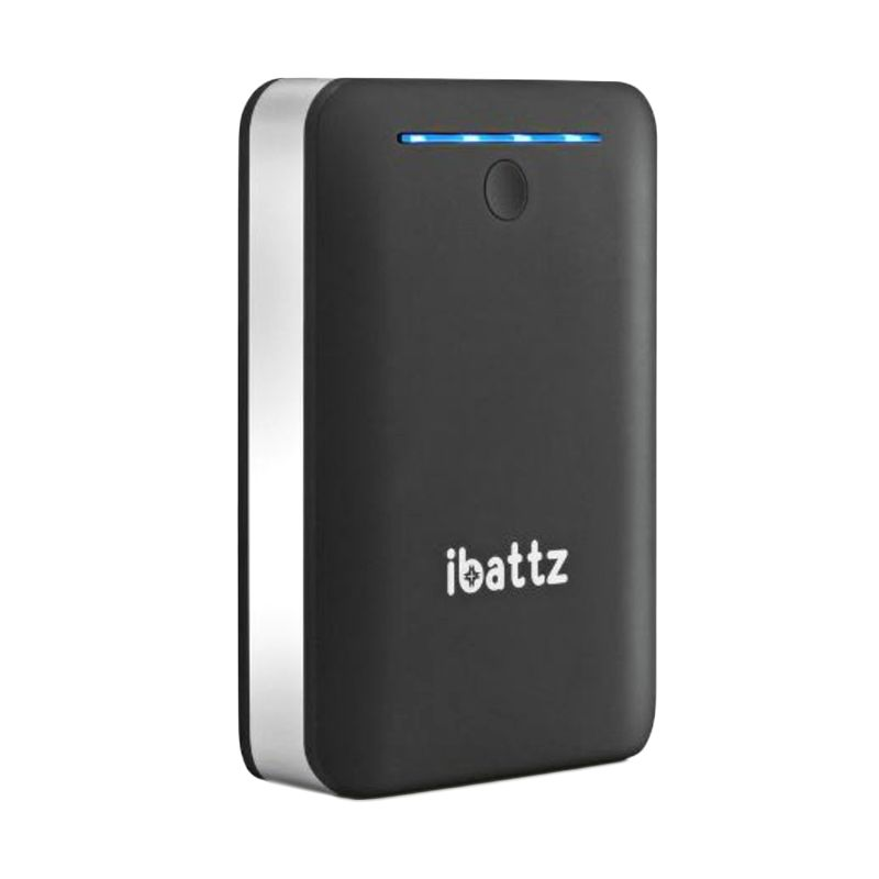 iBattz Battstation Tough Dual Pro Ports Powerbank [12000 mAh/Dual USB]
