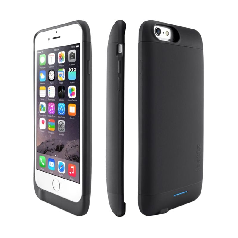 iBattz Refuel Invictus Removable Hitam Battery Casing for iPhone 6 [3200 mAh]