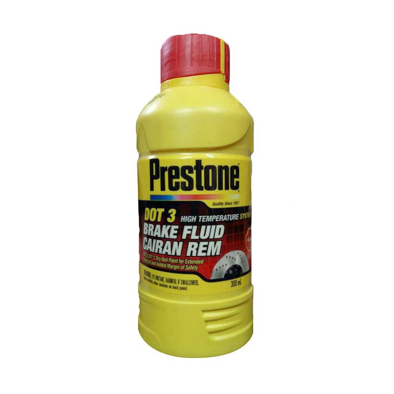 Prestone DOT 3 Brake Fluid Neutral Minyak Rem - Merah [300 mL]