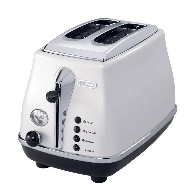 DeLonghi DL CTO2003 W TP Putih Toaster Pemanggang Roti