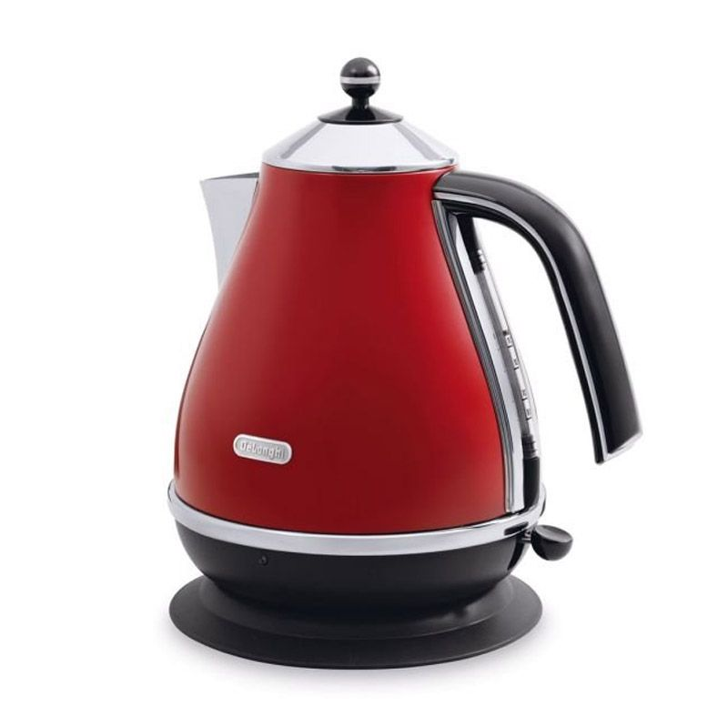 DeLonghi DL KBO2001.R Merah Electric Kettle