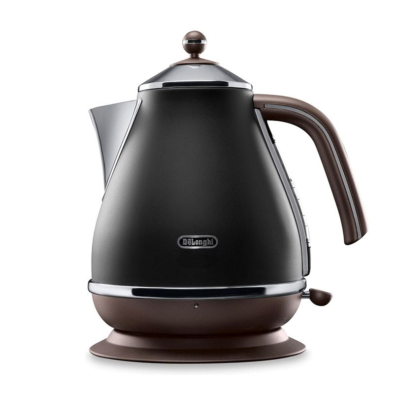 DeLonghi DL KBOV2001.BK Hitam Electric Kettle