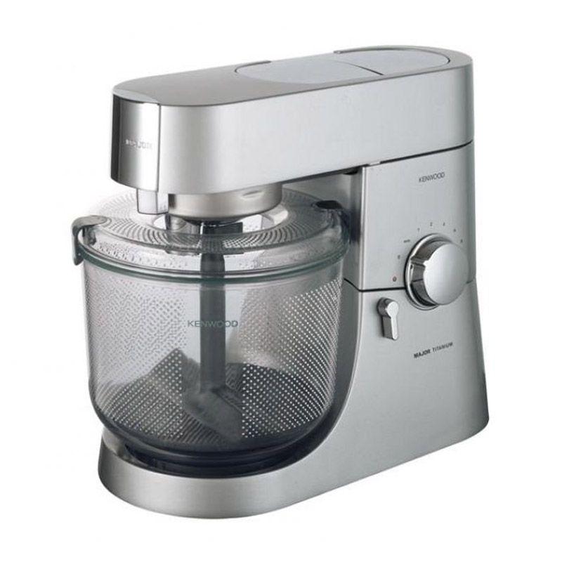Kenwood Attachment AT445 Major Int Silver Transparant Potato Peeler
