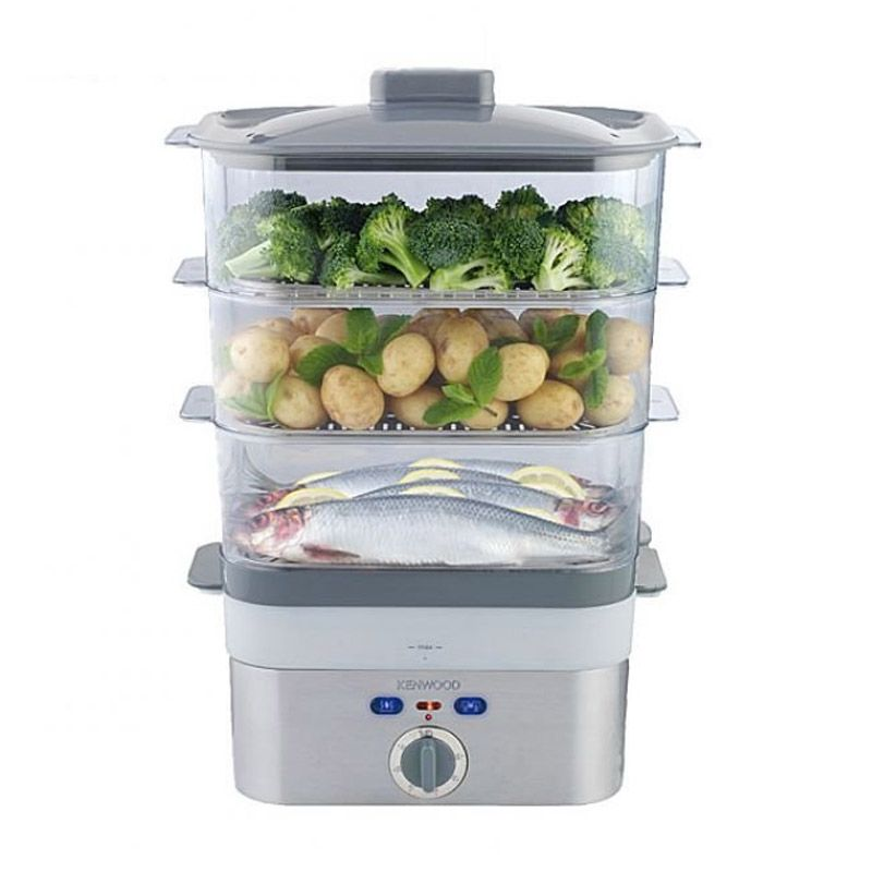 Kenwood FS620 2KW Silver Food Steamer