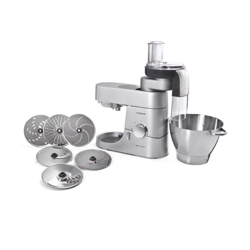Kenwood MA350 ATT Silver Food Processor [Pack AT312 + AT950A + AT340]