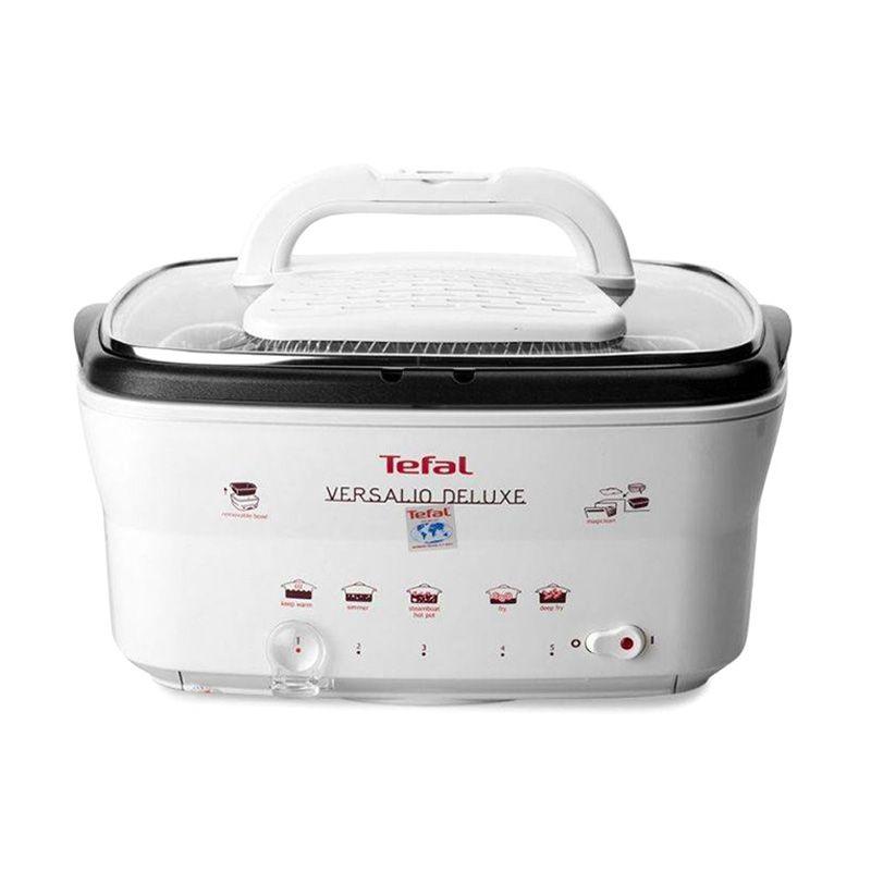 Tefal FR4023 Versalio Deluxe White Tungku Pemasak