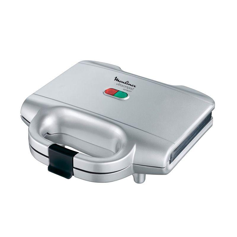 Tefal SM1551 Ultra Compact Silver Sandwich Maker