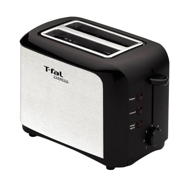 Tefal TT3561 Express C2 S with Lid Toaster Pemanggang Roti [850 Watt]