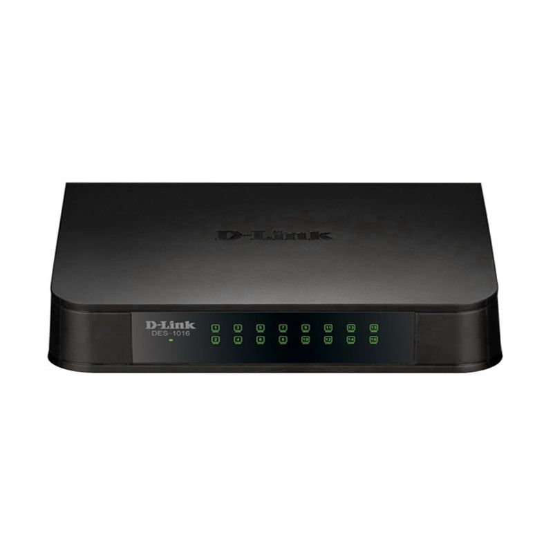 D-LINK DES-1016A 16 Port Desktop Switcher [10/100]