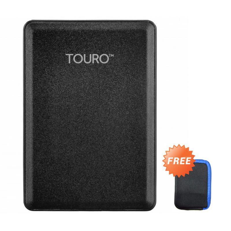 HGST Touro Mobile Hard Disk + Pouch [1 TB]