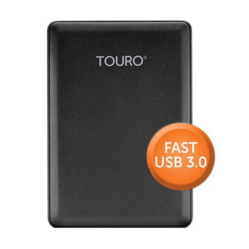 Hitachi Touro 1 TB Harddisk Eksternal + Bonus