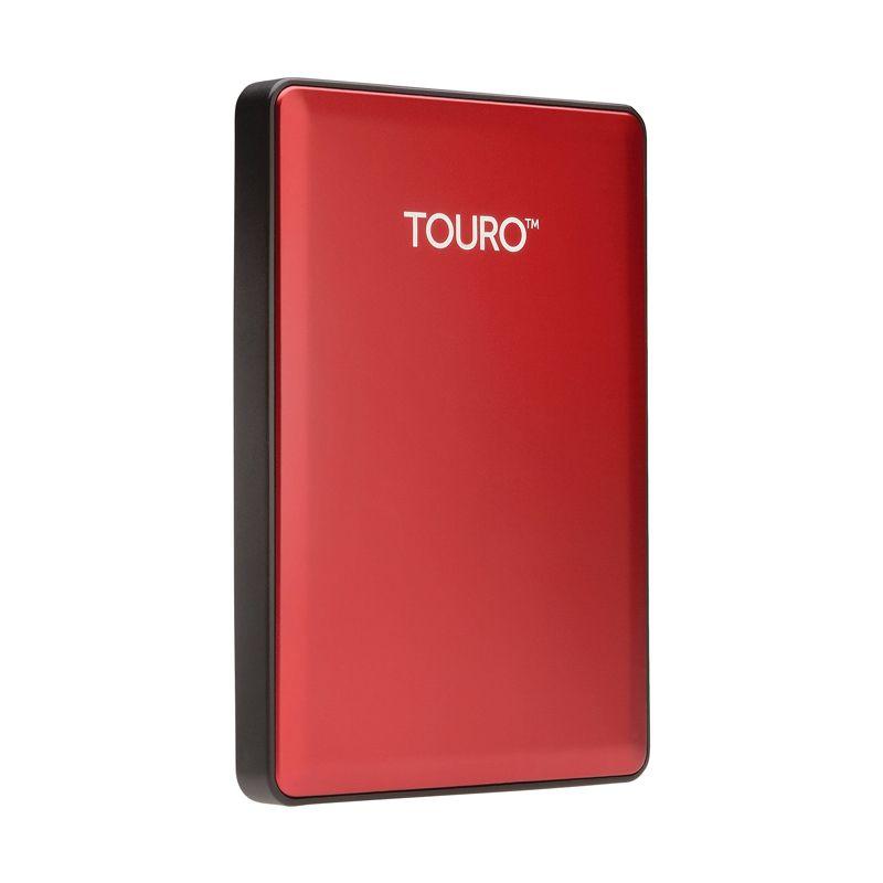 Hitachi Touro S 500 GB Red Hard Disk Eksternal