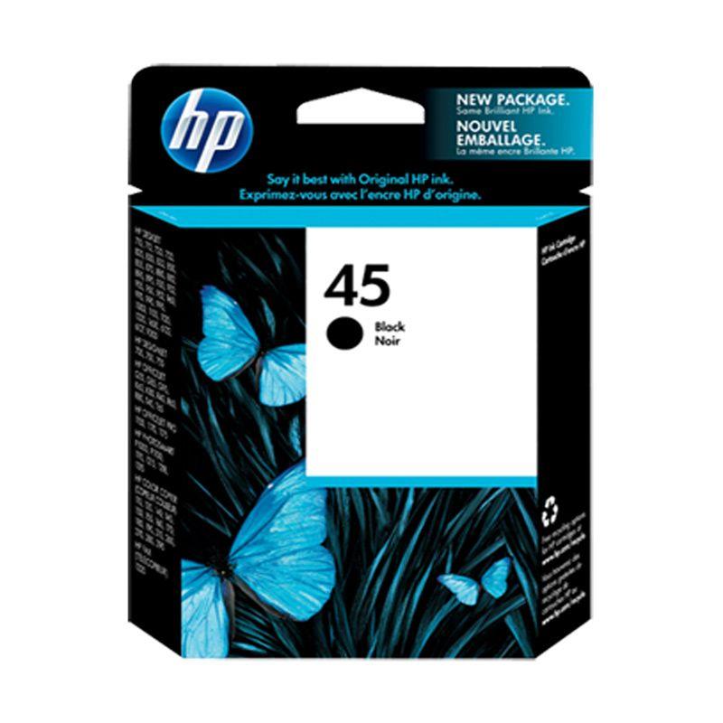 HP 45 Black Original Cartridge [51645AA]