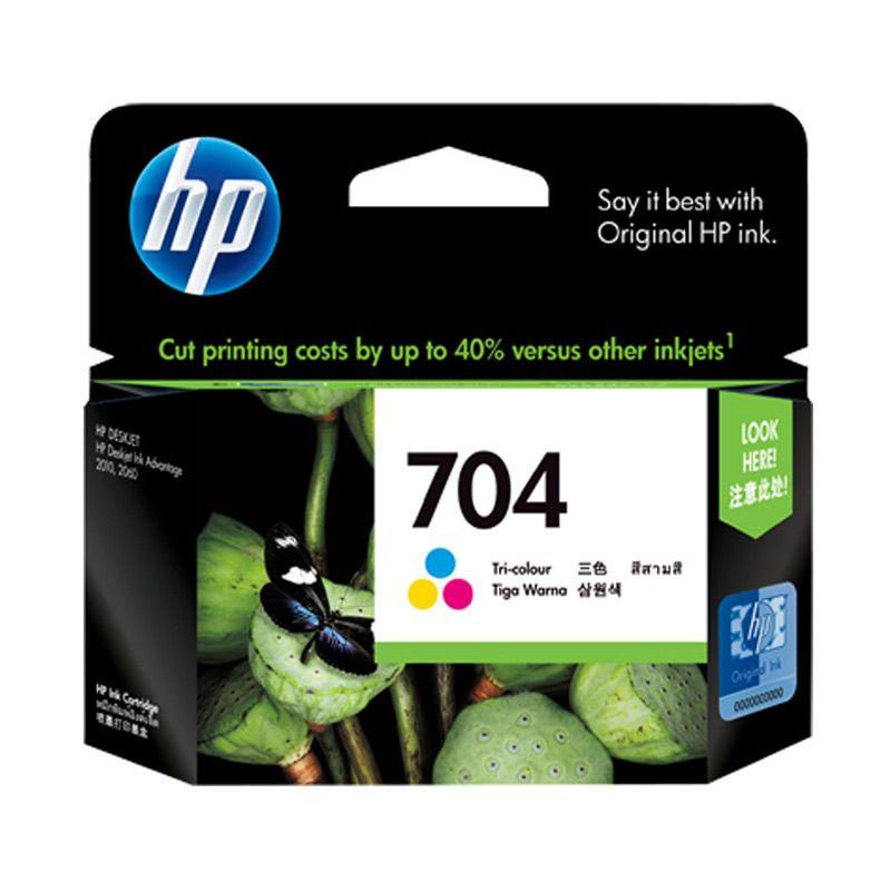 HP 704 Colour Tinta Printer