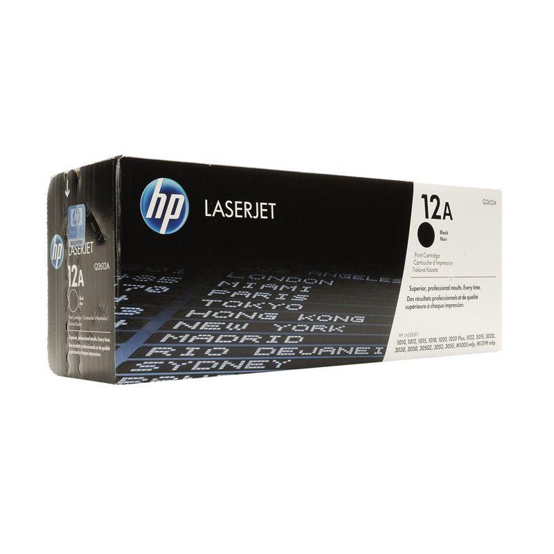 HP Q2612A Black Printer Toner