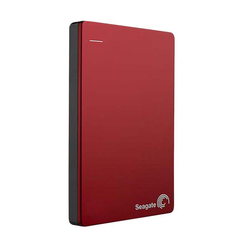 Seagate Backup Plus Slim Red Hard Disk Eksternal [1 TB]