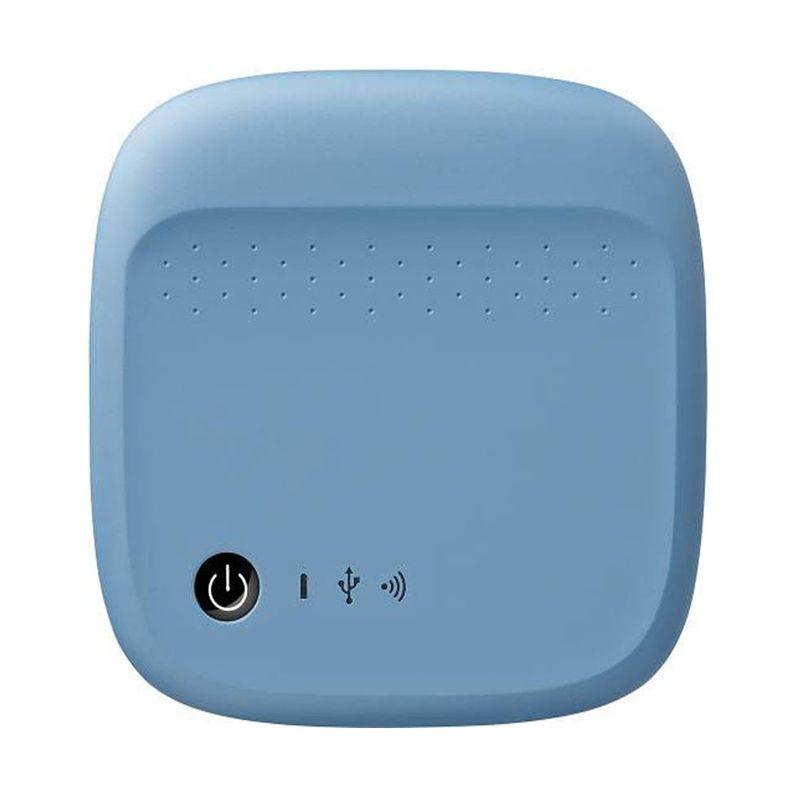 Seagate STDC400 500 GB Biru Wireless Hard Disk
