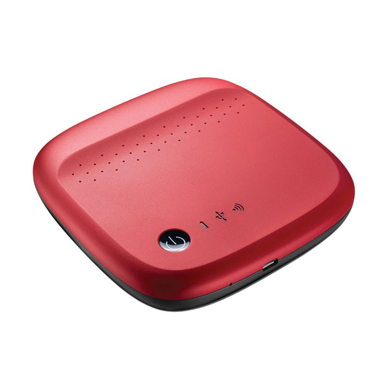 Seagate STDC500402 500 GB Merah Wireless Hard Disk