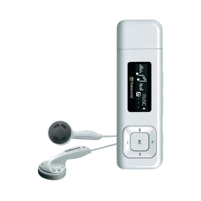 Transcend 30 Putih MP3 Player [8 GB]