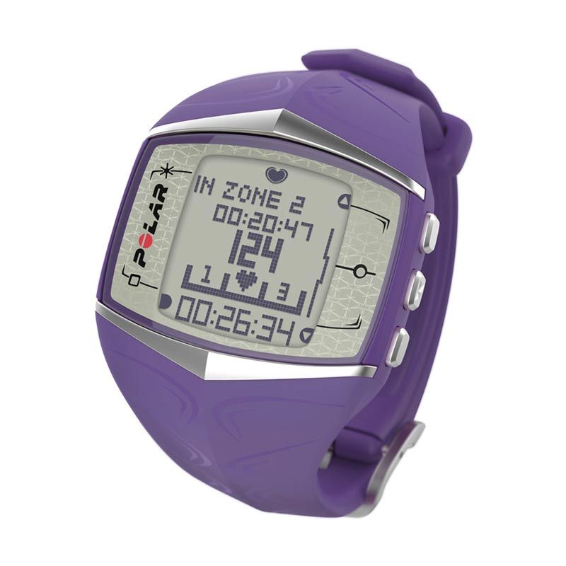 Polar Fitness Heart Rate Computer FT60 Lilac