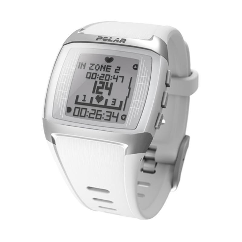 Polar Fitness Heart Rate Computer FT60 White