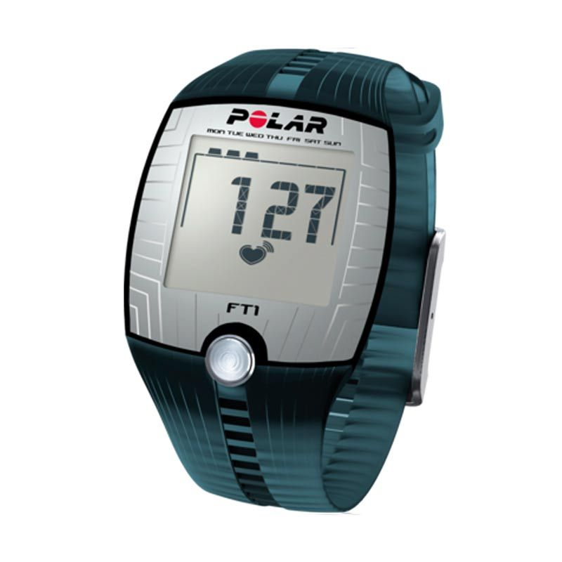 Jam Tangan Kesehatan Polar Fitness Heart Rate Monitor FT1 Blue