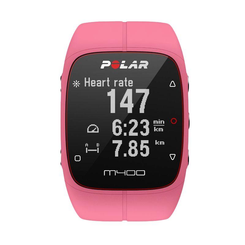 POLAR M400 HR Pink Smartwatch