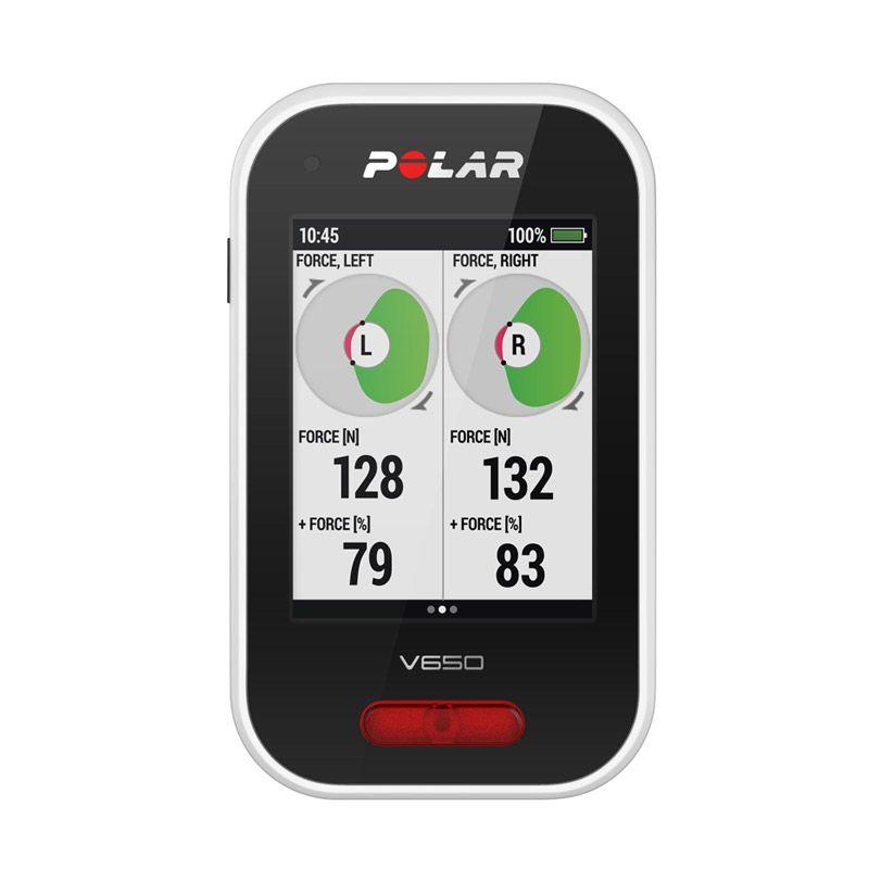 Polar Smartest Cycle Computer GPS V650 Black Alat Monitor Kesehatan