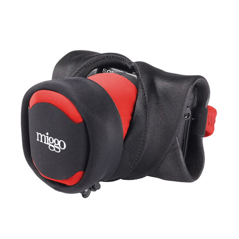 Miggo CSC 30 Red Black Grip & Wrap for DSLR Camera
