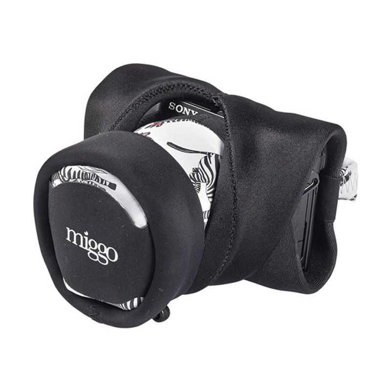 Miggo Zebranation 70 Grip & Wrap for DSLR Camera