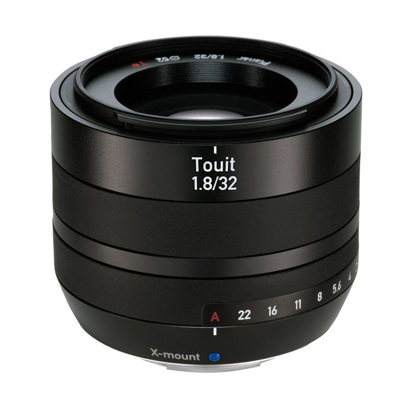 Zeiss Touit 1.8/32 X Mount Hitam Lensa Kamera