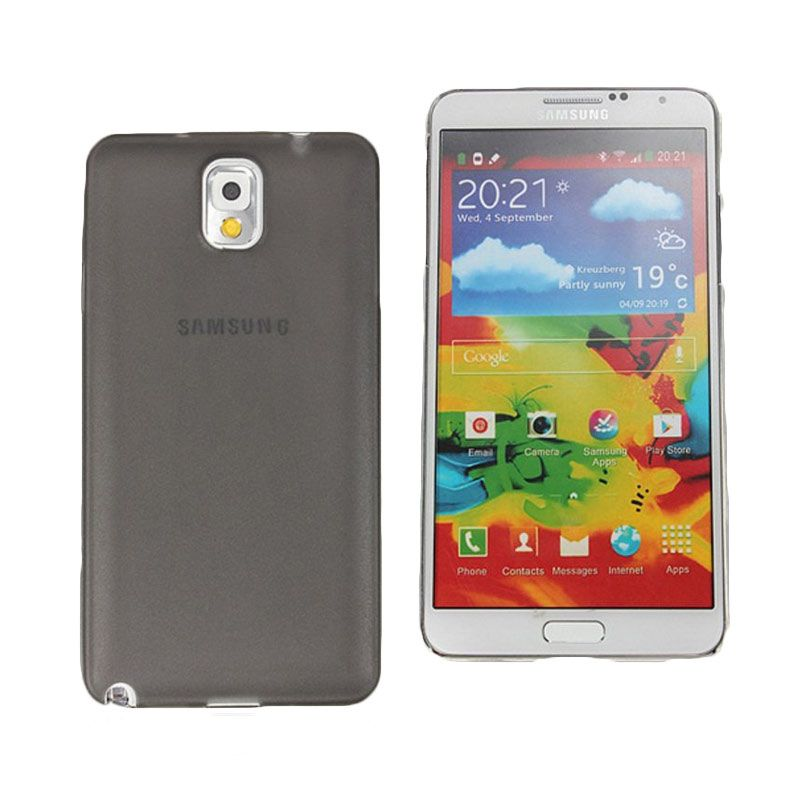 Primary Original Silicone Grey Casing for Galaxy Note 3