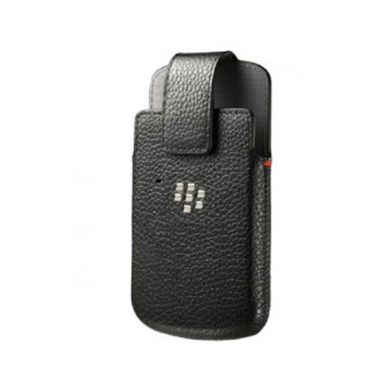 Blackberry Leather Swifel Holster Belt Clip Black Casing for Blackberry Q10