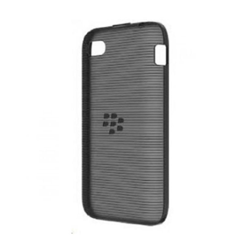 BlackBerry Softshell Black Casing for Blackberry Q5