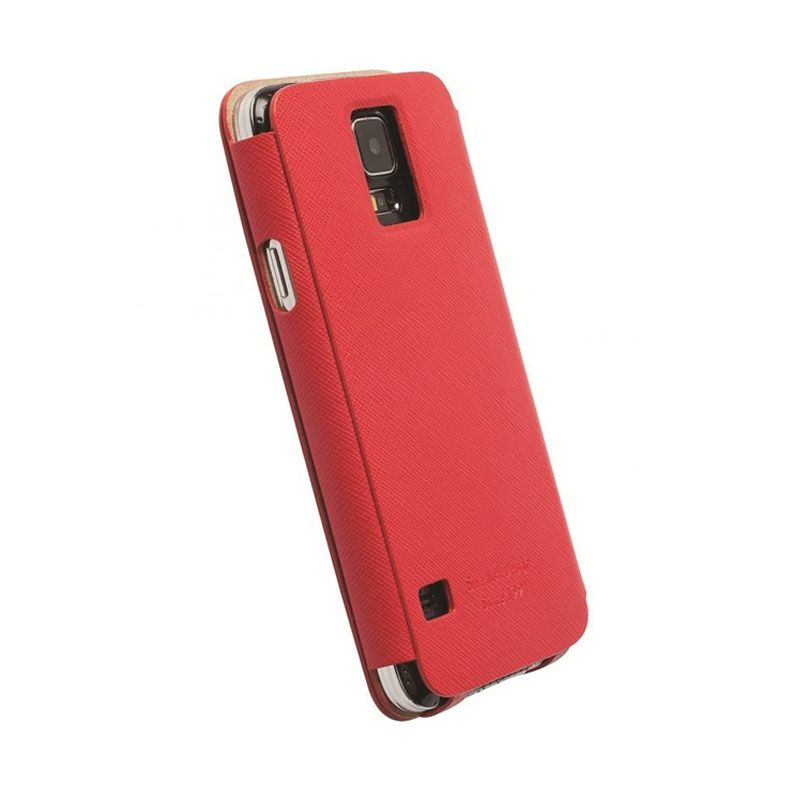 Krusell Flip Malmo Merah Casing for Galaxy S5