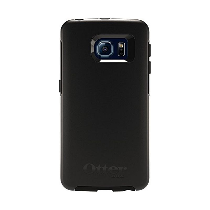 Otterbox Symmtery Hitam Casing for Galaxy S6 Edge