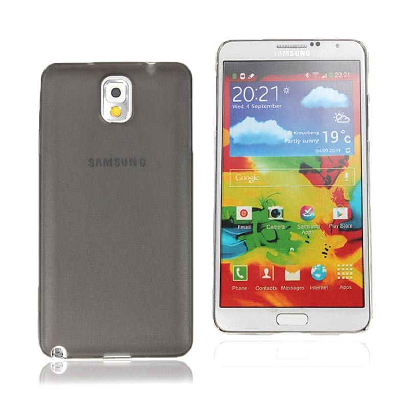 Primary Original Ultra Thin Transparant Grey Casing for Samsung Note 4