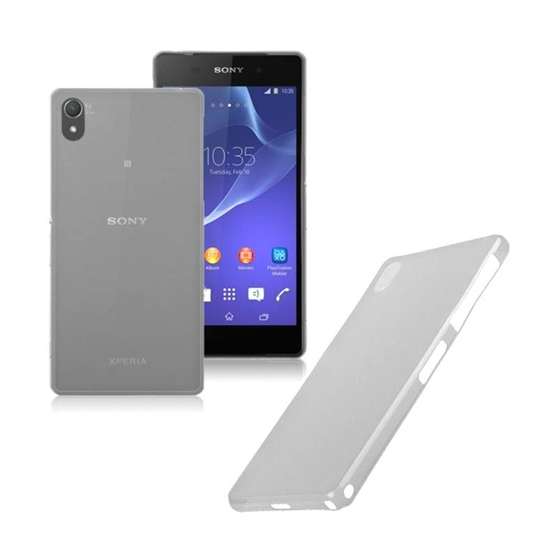 Primary Original Ultra Thin Transparant Grey Casing for SONY Xperia Z3
