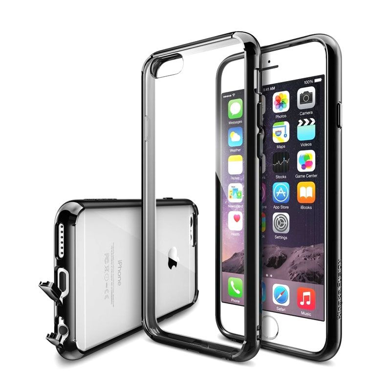 Rearth Ringke Fusion Hitam Casing for iPhone 6 Plus