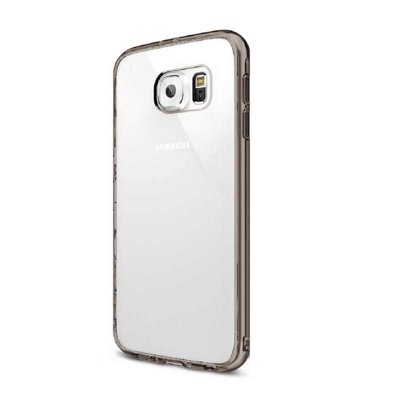 Rearth Ringke Fusion Smoke Black Casing for Galaxy S6