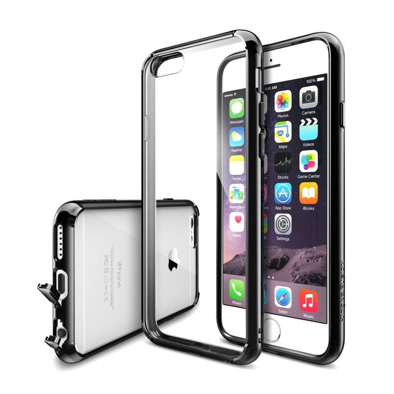 Rearth Ringke Fusion Smoke Black Casing for iPhone 6