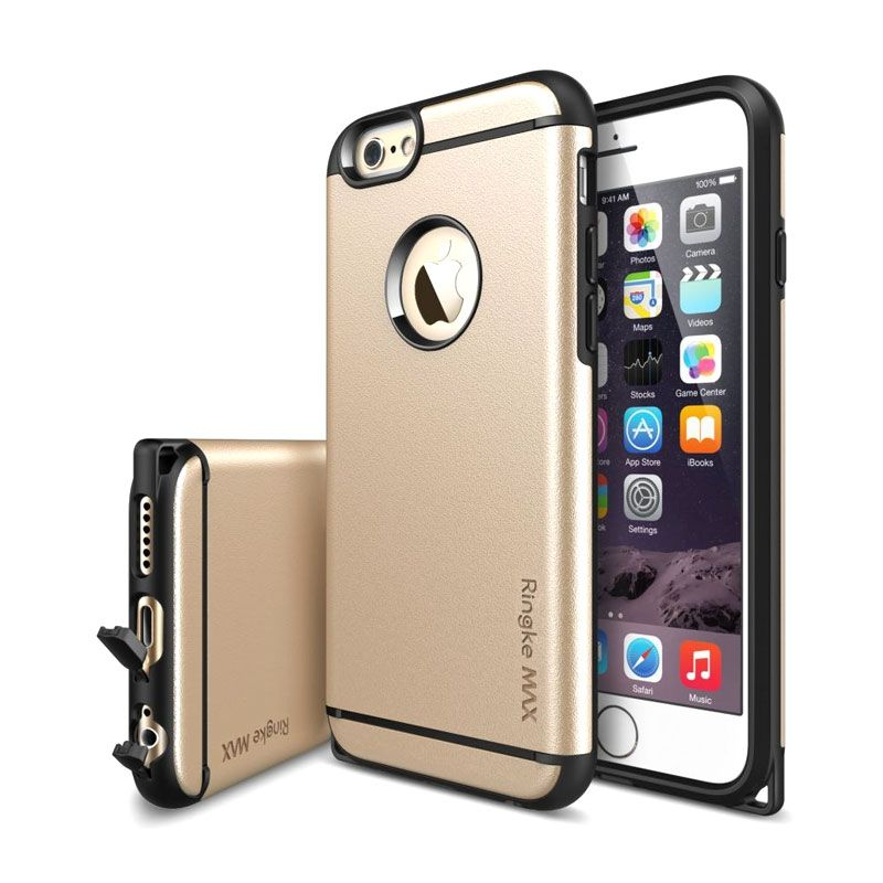 Rearth Ringke Max Gold Casing for iPhone 6 Plus