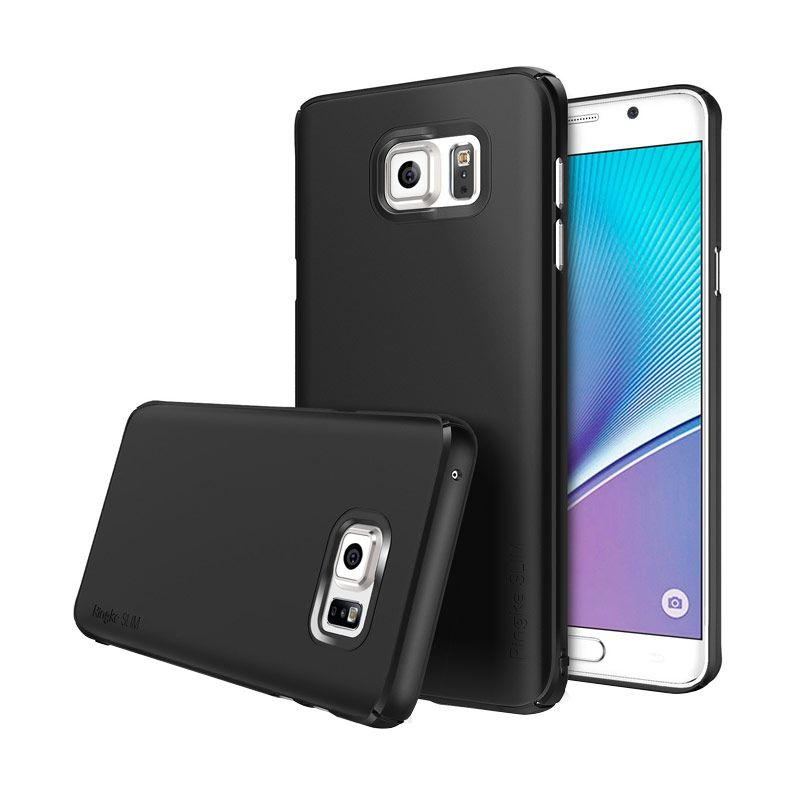 Rearth Ringke Slim Black Casing for Galaxy Note 5
